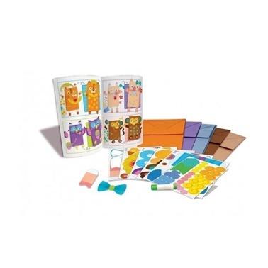 4M 4M Kağıt Poşet kuklalar Renkli